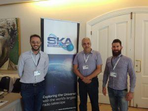 Il gruppo SKA dell'Osservatorio: immagine dal meeting internazionale di Città del Capo in Sud Africa